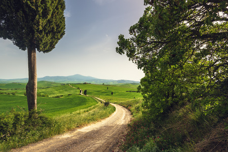 podere: Tuscan place in a rural landscape