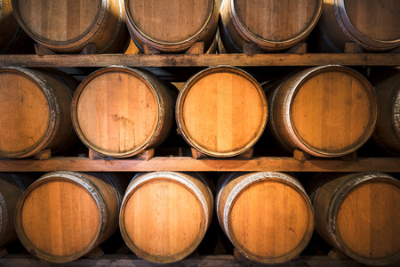 wooden barrel: Barrels for wine