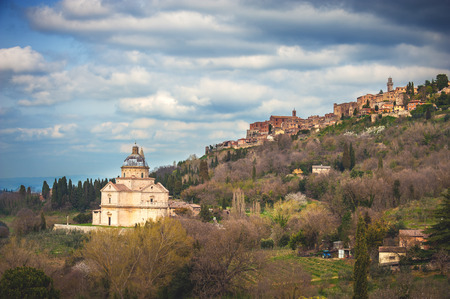 etruscan: Etruscan town with a long history in northern Tuscany, Montepulciano