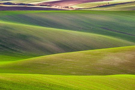 Czech countryside, south Moravia. Stock Photo