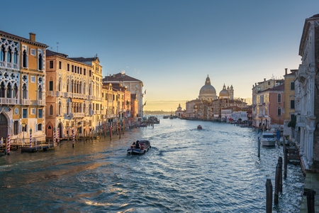 tourist attractions: Water channels the biggest tourist attractions in Italy, Venice.