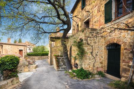 monticchiello: Corners of Monticchiello.