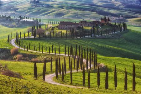 Magische reisgebieden van Toscane