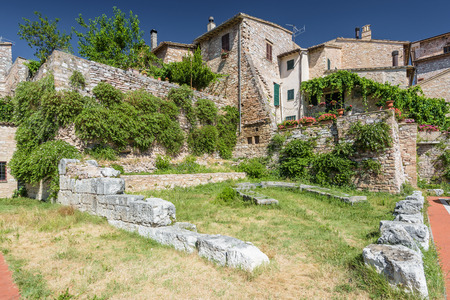 spello: Nooks and streets of the beautiful Italian towns in Umbria.