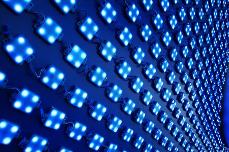 LED leuchtet Außenrasterplatine Standard-Bild - 31827758
