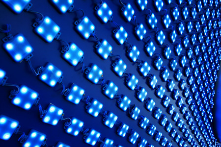 LED lights outdoor matrix board photo