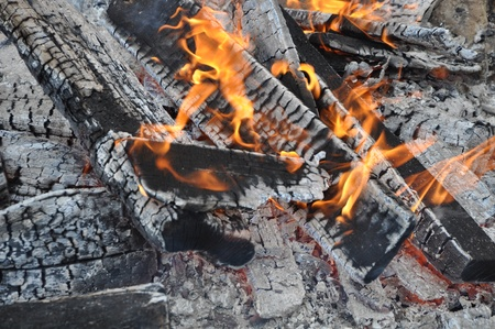 conflagrant: Fire  Stock Photo