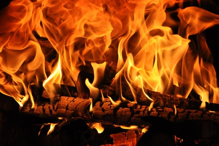 conflagrant: A fire is in a stove