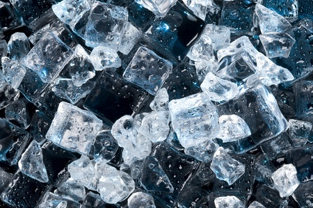 Abstract with black ice. Creative coold Background Reklamní fotografie - 10935353
