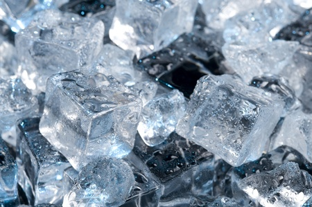 Abstract with black ice. Creative coold Background Stock Photo - 10935457