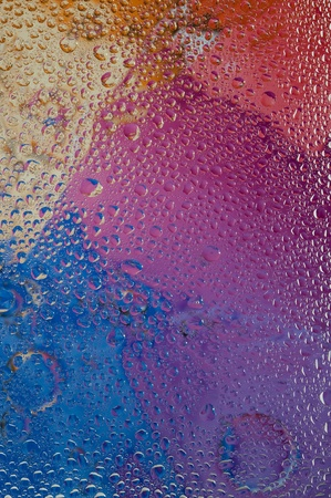 magnificence: Background with water drop. Creative abstract and bubbles