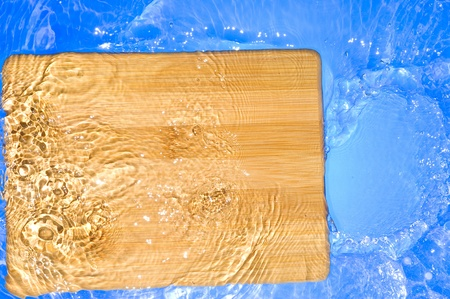 Texture wood .Background wood with splashing water Stock Photo - 11035007