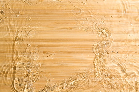 Texture wood .Background wood with splashing water Stock Photo - 11035003
