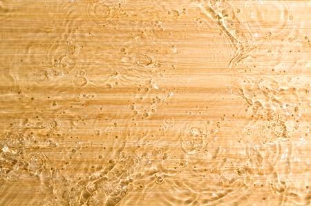 Texture wood .Background wood with splashing water Stock Photo - 11035004