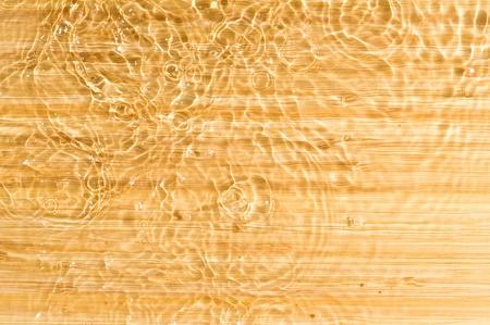 Texture wood .Background wood with splashing water Stock Photo - 11035096