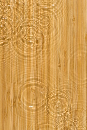Texture wood .Background wood with splashing water