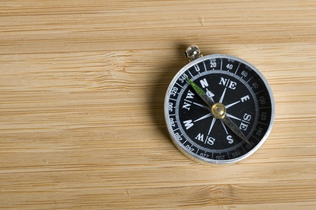 Texture brown wood .Background wood and compass Stock Photo - 11035577