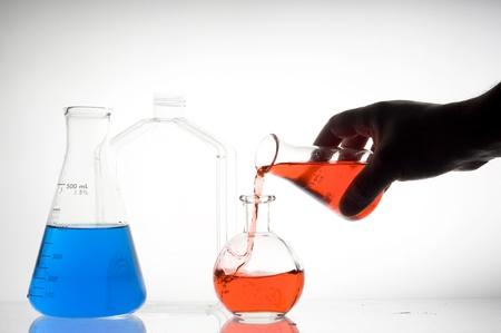 retort: Laboratory flask .Science research