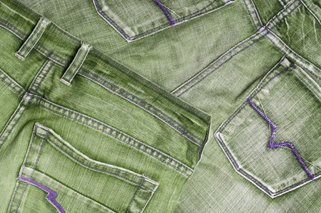 Background with grey jeans material