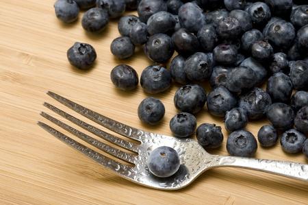 Backgound with sweet fresh blueberries Zdjęcie Seryjne - 11364983