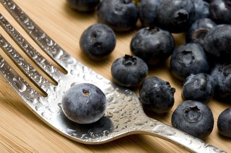 Backgound with sweet fresh blueberries Zdjęcie Seryjne - 11364857