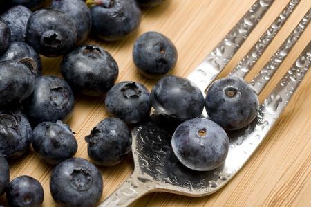 Backgound with sweet fresh blueberries Zdjęcie Seryjne - 11364909