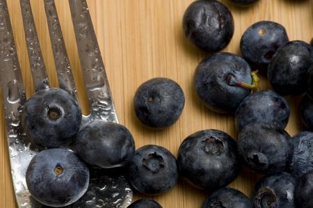 Backgound with sweet fresh blueberries Zdjęcie Seryjne - 11364865
