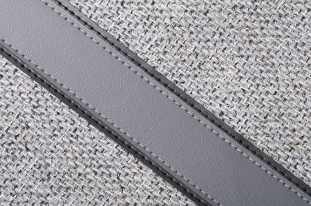 Background with grey rough fabric Stok Fotoğraf