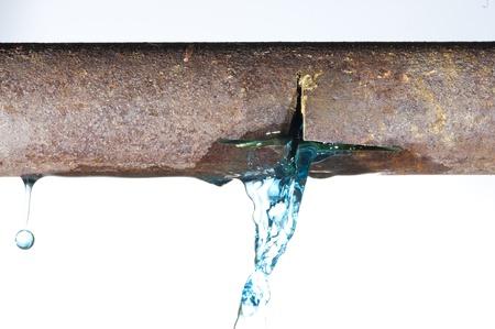 break: Water tube of the durst