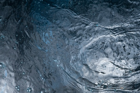 Abstract with dark water surface Stock Photo