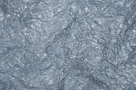 matiere plastique: Bulles d'eau sur plastique noir