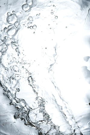 Background with black splashing  water. Creative abstract Stock Photo - 12229588