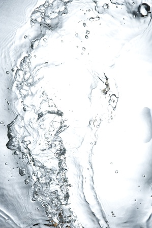 Background with black splashing  water. Creative abstract