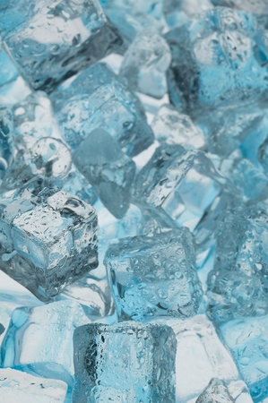 luster:  Abstract with blue ice. Creative coold Background  Stock Photo