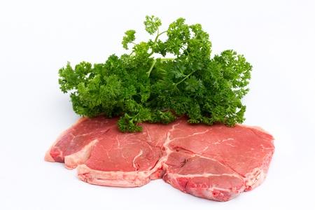 Meat. Raw Steak