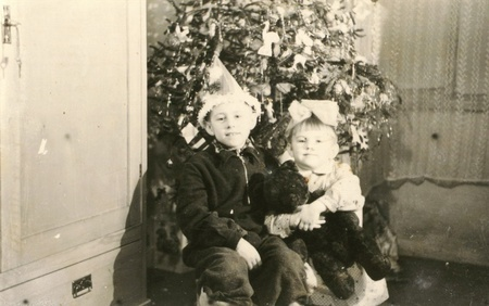 old photograph: Old family photograph