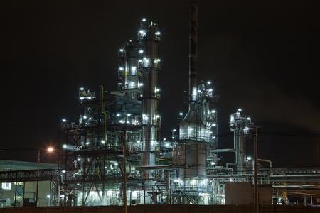 destilacion: Qu�mica unidad con columnas de tuber�as y la destilaci�n