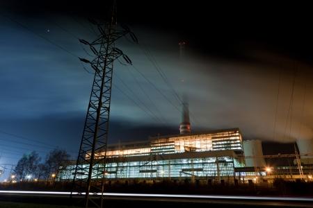 Power plant photo