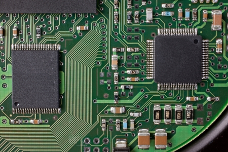 Microelectronic circuit Stock Photo - 13663767
