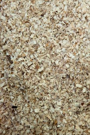 Raw natural wood sawdust texture yellowish colour