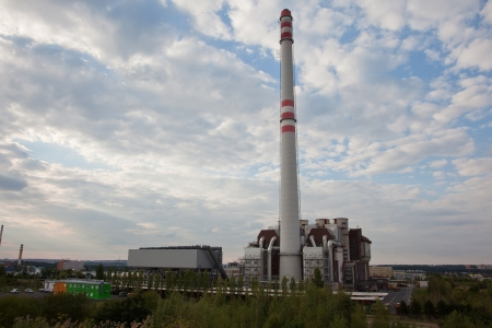 carbon emission: Waste incineration plant   recycling energy