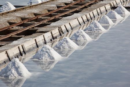 evaporating: avaporation water pool at salinas