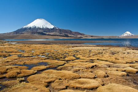 altitude: High altitude landscape Stock Photo
