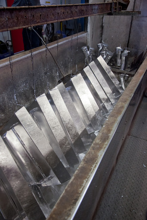 Process of steel hot dip galvanizing