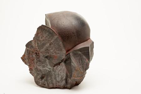 source of iron: Hematite- Fe2O3- important iron ore, contains 70% of iron