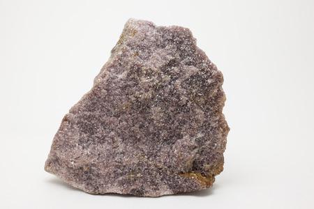 lithium: Lepidolite source of lithium, rubidium caesium