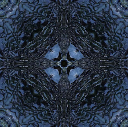 compiled: Abstract compiled from water and ice