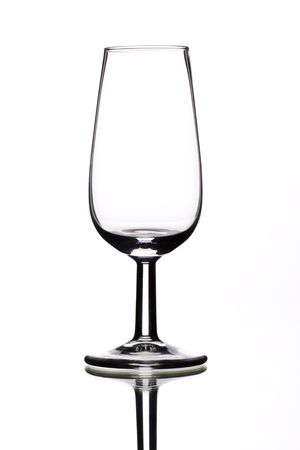 a small sherry glasses, especially for testing sherry Stock Photo