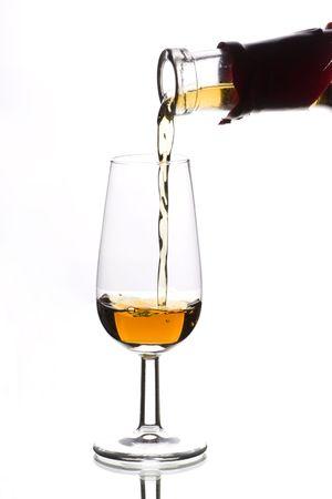 properly serve wine in a fancy restaurant