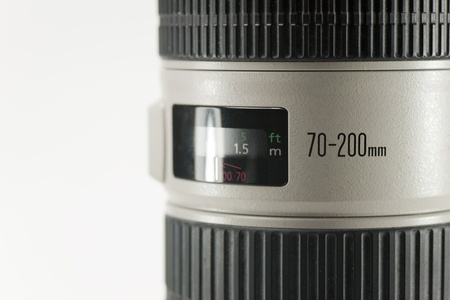 telezoom: telezoom objective focal length of 70-200 millimeters